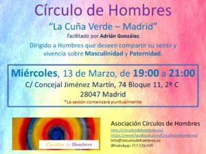 """Sesión Círculo """"La Cuña Verde - Madrid"""" @ La Cuña Verde   Madrid   Comunidad de Madrid   España"""