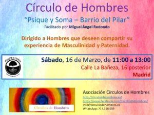 """Sesión Círculo """"Psique y Soma - Bº del Pilar"""" @ Psique y Soma   Madrid   Comunidad de Madrid   España"""