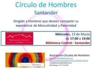 """Círculo de Hombres """"Santander"""" @ Biblioteca Central   Santander   Cantabria   España"""