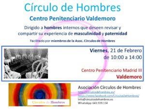 Sesión Círculo Centro Penitenciario Valdemoro @ Centro Penitenciario Valdemoro | Valdemoro | España