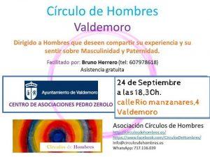 Círculo de Hombres VALDEMORO @ Centro de Asociaciones Pedro Zerolo   Valdemoro   Comunidad de Madrid   España