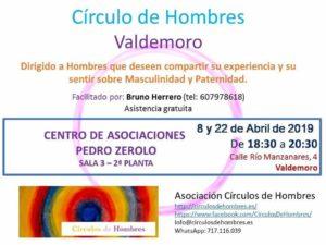 Círculo de Hombres VALDEMORO @ Centro de Asociaciones Pedro Zerolo | Valdemoro | Comunidad de Madrid | España