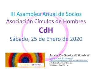 III Asamblea Anual Asociación Círculos de Hombres @ Madrid | Madrid | Comunidad de Madrid | España