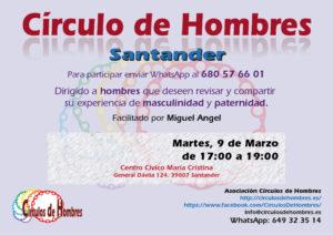 Círculo de Hombres Santander - C.C. Maria Cristina @ Centro Civico María Cristina | Santander | Cantabria | España